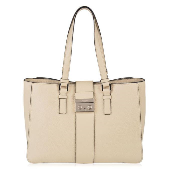 Waverly Bag - predominant colour: ivory/cream; occasions: casual, creative work; type of pattern: standard; style: shoulder; length: shoulder (tucks under arm); size: standard; material: leather; pattern: plain; finish: plain; wardrobe: investment; season: a/w 2016