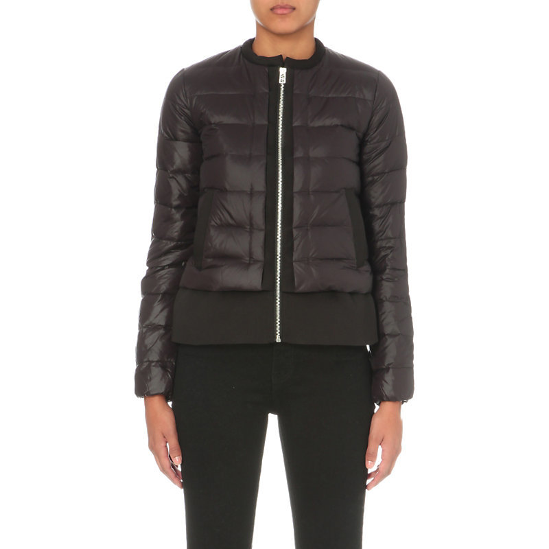 Gaya Quilted Jacket, Women's, Black - pattern: plain; length: standard; collar: round collar/collarless; style: quilted; fit: slim fit; predominant colour: black; occasions: casual; fibres: polyester/polyamide - mix; sleeve length: long sleeve; sleeve style: standard; texture group: technical outdoor fabrics; collar break: high; pattern type: fabric; wardrobe: basic; season: a/w 2016
