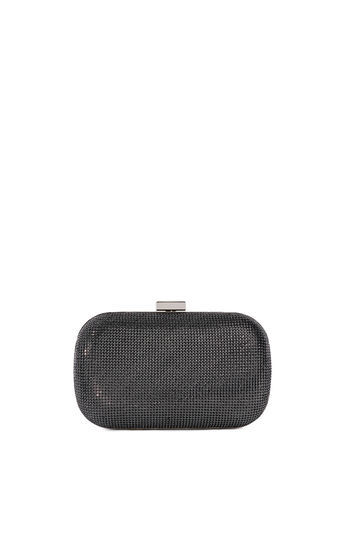 Sparkle Clutch - predominant colour: black; occasions: evening, occasion; type of pattern: standard; style: clutch; length: hand carry; size: small; material: faux leather; embellishment: glitter; pattern: plain; finish: metallic; season: a/w 2016; wardrobe: event