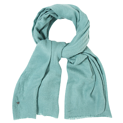 Cara Scarf - predominant colour: turquoise; occasions: casual, creative work; type of pattern: standard; style: regular; size: standard; material: fabric; pattern: plain; season: s/s 2016; wardrobe: highlight