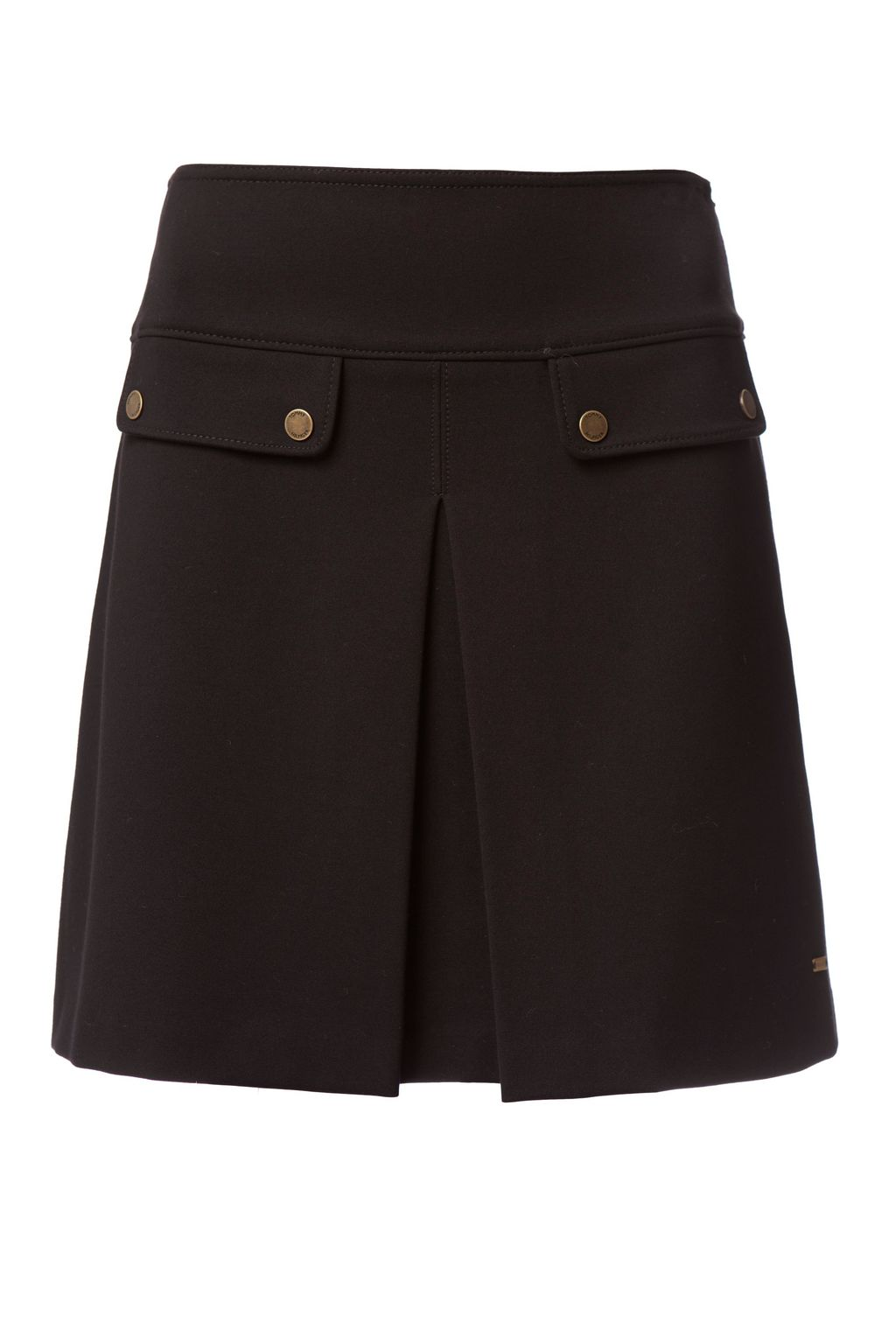 Imogen Skirt, Black - length: mid thigh; pattern: plain; style: straight; waist: mid/regular rise; predominant colour: black; occasions: casual; fibres: viscose/rayon - stretch; fit: straight cut; pattern type: fabric; texture group: other - light to midweight; wardrobe: basic; season: a/w 2016