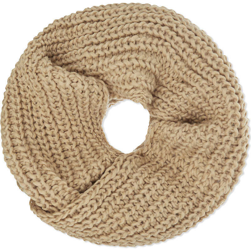 Albi Snood, Women's, Camel - predominant colour: camel; occasions: casual; type of pattern: standard; style: snood; size: standard; material: knits; pattern: plain; wardrobe: basic; season: a/w 2016