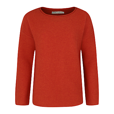 Fruity Jumper Ii - neckline: round neck; pattern: plain; style: standard; predominant colour: terracotta; occasions: casual, work, creative work; length: standard; fibres: nylon - mix; fit: standard fit; sleeve length: long sleeve; sleeve style: standard; texture group: knits/crochet; pattern type: knitted - fine stitch; season: a/w 2016; wardrobe: highlight