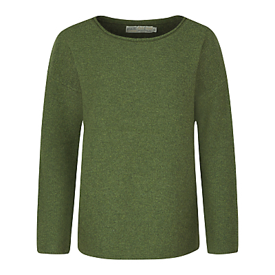 Fruity Jumper Ii - neckline: round neck; pattern: plain; style: standard; predominant colour: dark green; occasions: casual, creative work; length: standard; fibres: nylon - mix; fit: standard fit; sleeve length: long sleeve; sleeve style: standard; texture group: knits/crochet; pattern type: knitted - fine stitch; pattern size: standard; season: a/w 2016; wardrobe: highlight