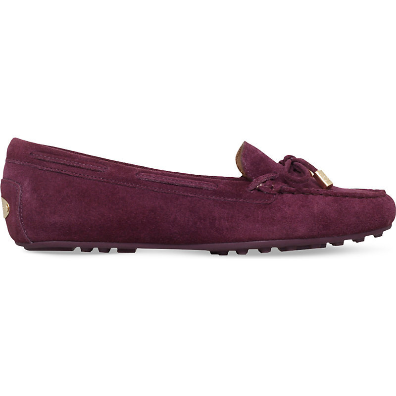 Daisy Suede Moccasins, Women's, Eur 40 / 7 Uk Women, Red - predominant colour: true red; occasions: casual, creative work; material: suede; heel height: flat; embellishment: tassels; toe: round toe; style: moccasins; finish: plain; pattern: plain; shoe detail: tread; season: a/w 2016; wardrobe: highlight