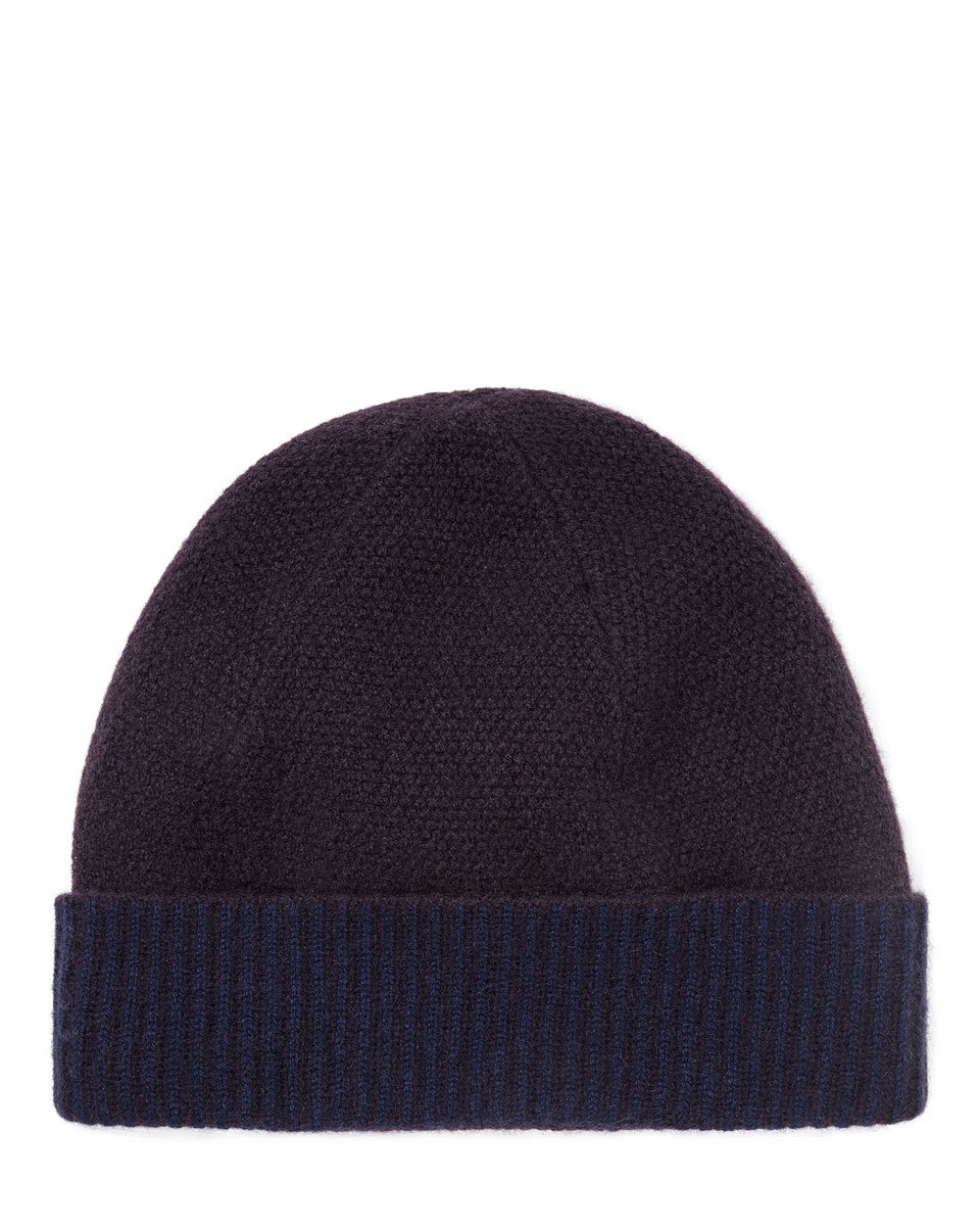 Savannah Cashmere Hat - predominant colour: black; occasions: casual; type of pattern: standard; style: beanie; size: standard; pattern: plain; material: cashmere; wardrobe: investment; season: a/w 2016