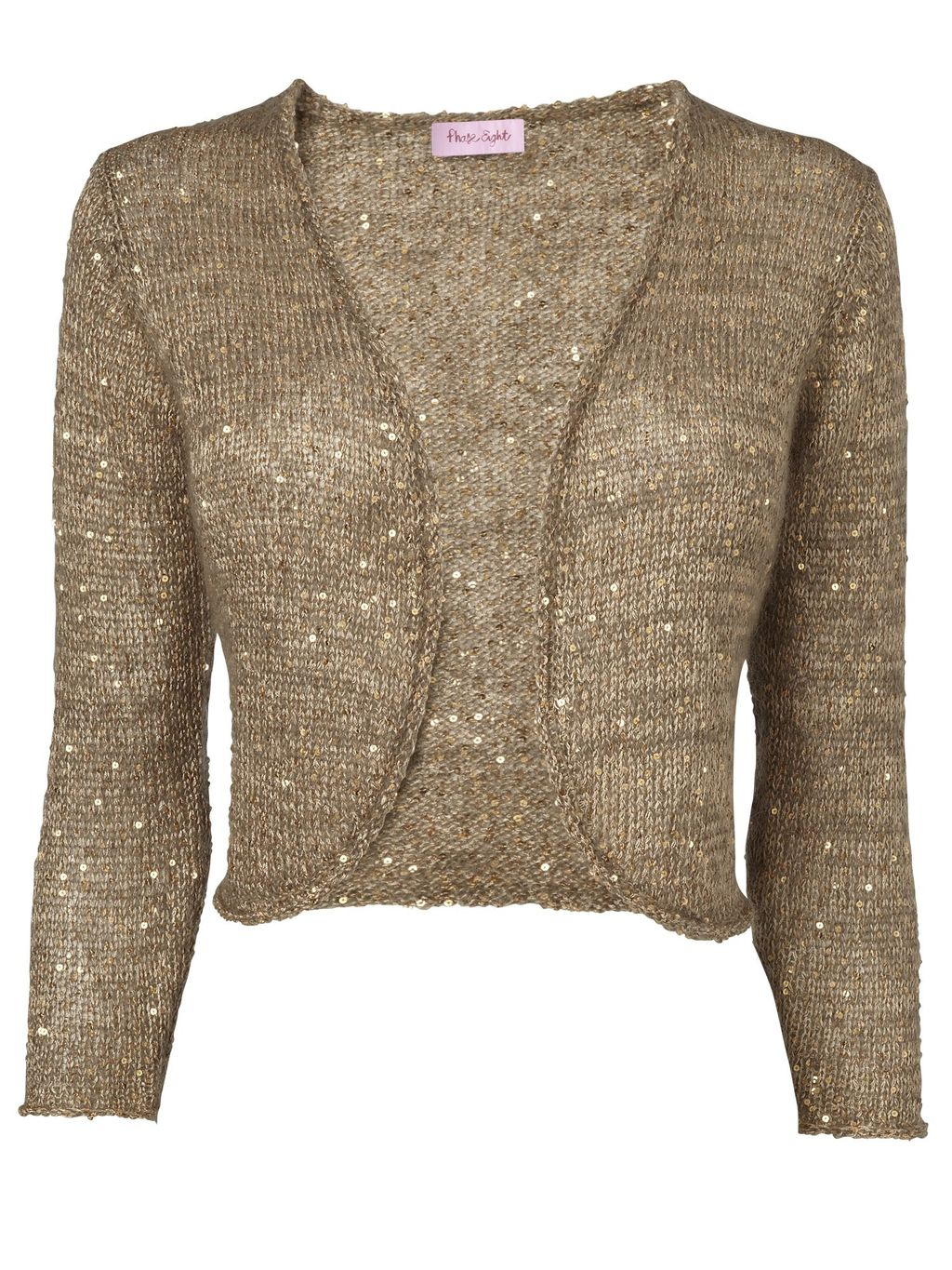Gold Shrug Sweater Her Sweater