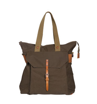 Timothy Large Tote - predominant colour: chocolate brown; occasions: casual, work, holiday; type of pattern: light; style: tote; length: shoulder (tucks under arm); size: oversized; material: fabric; pattern: plain; finish: plain; season: a/w 2012