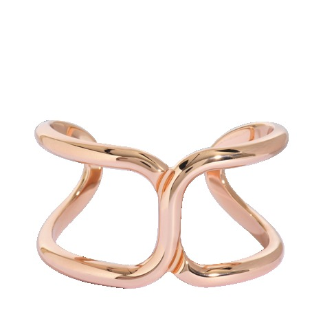 Marcie Cuff Bracelet - predominant colour: gold; occasions: casual, evening, work, occasion, holiday; style: cuff; size: large/oversized; material: chain/metal; trends: metallics; finish: metallic; embellishment: chain/metal; season: s/s 2013