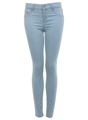 Bleach Ultra Soft Jean - style: skinny leg; length: standard; pattern: plain; pocket detail: traditional 5 pocket; waist: mid/regular rise; predominant colour: pale blue; occasions: casual, evening, holiday; fibres: cotton - stretch; texture group: denim; pattern type: fabric; season: s/s 2013