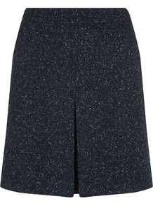 Nw3 Holly A Line Skirt, Navy Multi - length: mid thigh; fit: loose/voluminous; pattern: herringbone/tweed; waist: mid/regular rise; predominant colour: navy; occasions: casual, work, creative work; style: a-line; pattern type: fabric; texture group: tweed - light/midweight; season: a/w 2014