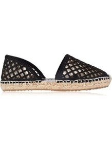 Dreya Star Espadrilles - predominant colour: black; occasions: casual, holiday; material: fabric; heel height: flat; toe: round toe; finish: plain; pattern: plain; style: espadrilles; season: s/s 2016; wardrobe: highlight