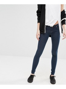 Kissy Night Shadow Skinny Jean Night Shadow - style: skinny leg; length: standard; pattern: plain; waist: mid/regular rise; predominant colour: navy; occasions: casual, creative work; fibres: cotton - stretch; jeans detail: dark wash; texture group: denim; pattern type: fabric; season: s/s 2016; wardrobe: basic
