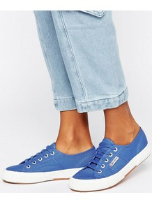 2750 Cotu Trainer C20 Blue Iris - predominant colour: navy; occasions: casual; material: fabric; heel height: flat; toe: round toe; style: trainers; finish: plain; pattern: plain; season: a/w 2016