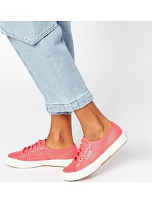 2750 Cotu Trainer T33 Paradis Red - secondary colour: white; predominant colour: pink; occasions: casual; material: fabric; heel height: flat; toe: round toe; style: trainers; finish: plain; pattern: plain; multicoloured: multicoloured; season: a/w 2016