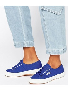 2750 Cotu Trainer G88 Intense Blue - secondary colour: white; predominant colour: royal blue; occasions: casual; material: fabric; heel height: flat; toe: round toe; style: trainers; finish: plain; pattern: plain; multicoloured: multicoloured; season: a/w 2016