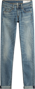Straight Leg Jeans Blue - style: straight leg; length: standard; pattern: plain; pocket detail: traditional 5 pocket; waist: mid/regular rise; predominant colour: denim; occasions: casual; fibres: cotton - stretch; jeans detail: whiskering, shading down centre of thigh; texture group: denim; pattern type: fabric; pattern size: standard (bottom); season: a/w 2016