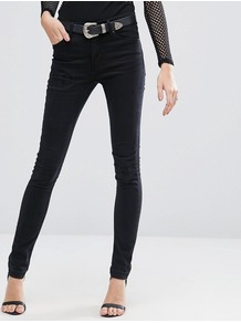 Tight Skinny Jeans L32 Black Fusion - style: skinny leg; length: standard; pattern: plain; pocket detail: traditional 5 pocket; waist: mid/regular rise; predominant colour: black; occasions: casual; fibres: cotton - stretch; texture group: denim; pattern type: fabric; season: a/w 2016