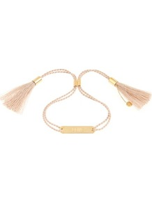 Love Bracelet - predominant colour: gold; occasions: evening, occasion; style: friendship/tie; size: standard; material: leather; finish: patent; season: a/w 2016