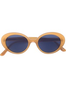 'deep Amber' Sunglasses, Women's, Yellow/Orange - predominant colour: camel; occasions: casual, holiday; style: cateye; size: standard; material: plastic/rubber; pattern: tortoiseshell; finish: plain; wardrobe: basic; season: a/w 2016