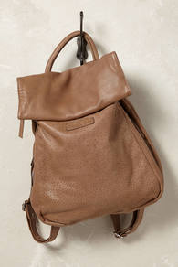 Malia Rucksack - predominant colour: camel; occasions: casual, creative work; type of pattern: standard; style: rucksack; length: rucksack; size: standard; material: leather; pattern: plain; finish: plain; wardrobe: basic; season: a/w 2016