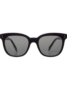 The Vb Sunglasses Black - predominant colour: black; occasions: casual, holiday; style: cateye; size: standard; material: plastic/rubber; pattern: plain; finish: plain; wardrobe: basic; season: a/w 2016