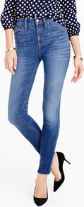 Tall Lookout High Rise Jean In Fairoaks Wash - style: skinny leg; length: standard; pattern: plain; waist: high rise; pocket detail: traditional 5 pocket; predominant colour: denim; occasions: casual; fibres: cotton - stretch; jeans detail: whiskering, shading down centre of thigh; texture group: denim; pattern type: fabric; wardrobe: basic; season: a/w 2016