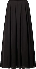 Nuit Maxi Skirt, Black - pattern: plain; length: ankle length; fit: loose/voluminous; waist: mid/regular rise; predominant colour: black; occasions: casual; style: maxi skirt; fibres: polyester/polyamide - 100%; texture group: sheer fabrics/chiffon/organza etc.; pattern type: fabric; wardrobe: basic; season: a/w 2016