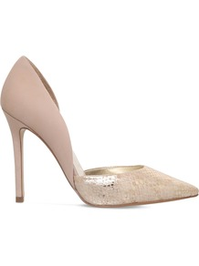 Assort Leather Courts, Women's, Eur 36 / 3 Uk Women, Light Salmon - predominant colour: nude; occasions: evening; material: leather; heel height: high; heel: stiletto; toe: pointed toe; style: courts; finish: plain; pattern: plain; wardrobe: event; season: s/s 2017
