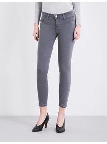The Stiletto Skinny High Rise Jeans, Women's, Grey - style: skinny leg; pattern: plain; pocket detail: traditional 5 pocket; waist: mid/regular rise; predominant colour: mid grey; occasions: casual, creative work; length: ankle length; fibres: cotton - stretch; texture group: denim; pattern type: fabric; wardrobe: highlight; season: s/s 2017