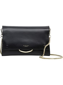 Blackheath Leather Small Across Body Bag - predominant colour: black; occasions: evening, occasion; type of pattern: standard; style: clutch; length: hand carry; size: small; material: leather; pattern: plain; finish: plain; wardrobe: event; season: s/s 2017
